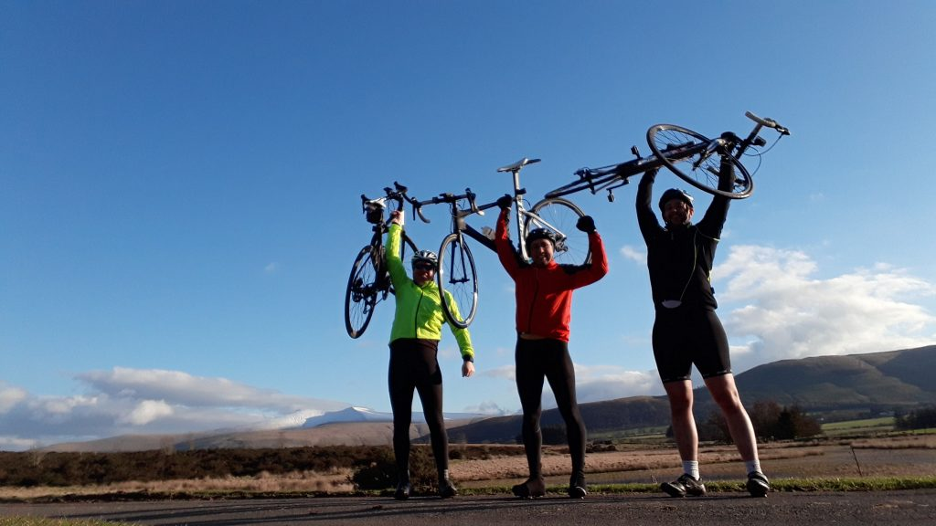 Cycling in Brecon Beacons